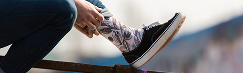 LUF|SOX Lifestyle Classics Bucks - Making Friends Collection