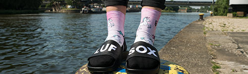 LUF|SOX Lifestyle Quarter Anicora - Flash Collection